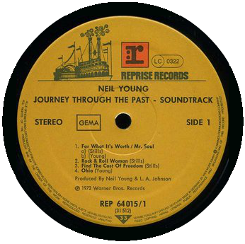 Journey Through The Past record