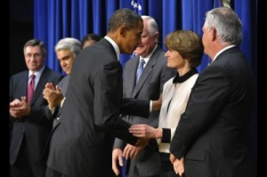 Obama and Sally